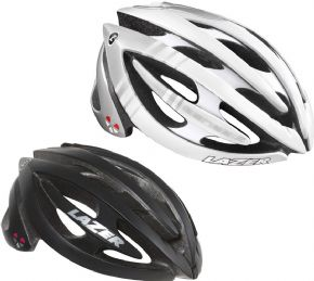 Lazer Genesis Lifebeam Helmet  - Transmits data to most modern communication devices with ANT+ or Bluetooth