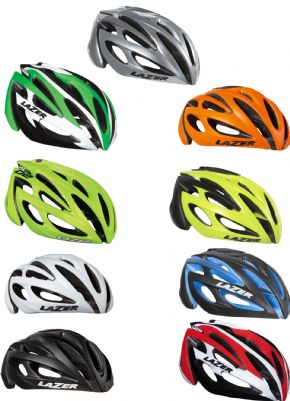Lazer O2 Helmet Small Only - Added reflective material has been fitted around the helmet to increase visibility