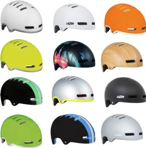 Lazer Armor Urban Helmet - Super sharp and tough standout Urban styling in a low weight package